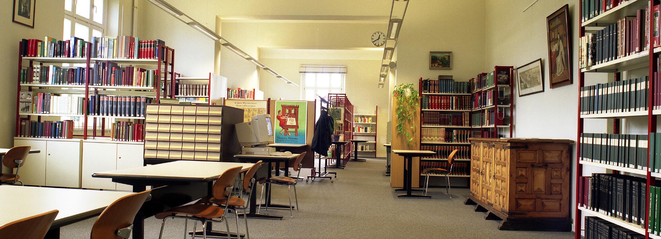 Lesesaal Linga-Bibliothek