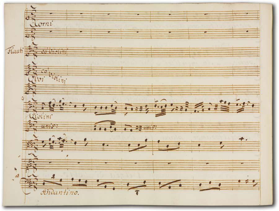 J. A. Hasse: Leucippo (Fassung 1747), D-Hs, ND VI 2943, Bd. 2, fol. 40r