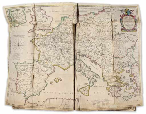 Barocke Kartenpracht aus dem Amsterdamer Verlagshaus Blaeu