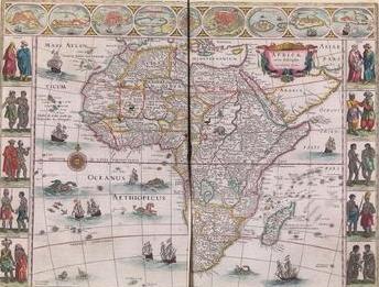 Willem Janszoon Blaeu und Joan Blaeu (Hrsg.): Toonneel Des Aerdrycx, oft Nieuwe Atlas Amsterdam: Blaeu, 1648-1658