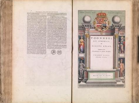 Willem Janszoon Blaeu und Joan Blaeu (Hrsg.): Toonneel Des Aerdrycx, oft Nieuwe Atlas