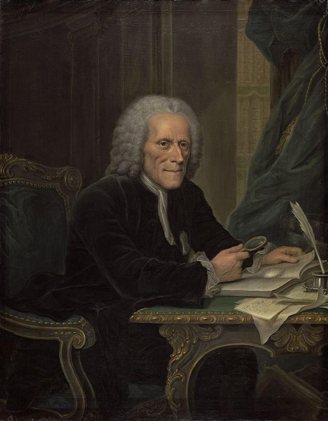 Johann Christian Wolf, Maler: Theodor Friedrich Stein