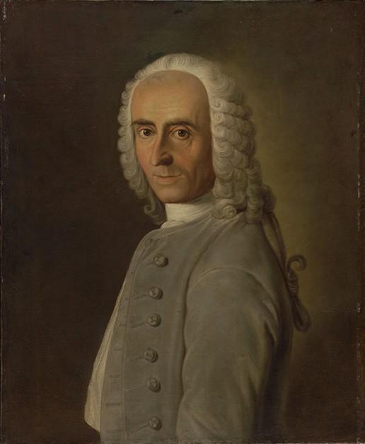 Johann Jakob Bodmer, Maler: Johann Caspar Füßli d.Ä.