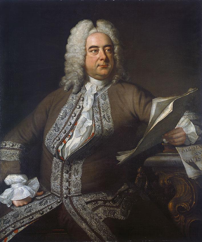 Georg Friedrich Händel, Maler: Thomas Hudson