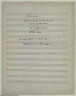 F. Liszt: Transkription 'Es ist genug', Titelblatt