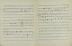 F. Liszt: Transkription 'Es ist genug', S. 2u.3