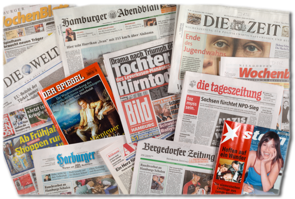 Hamburg newspapers