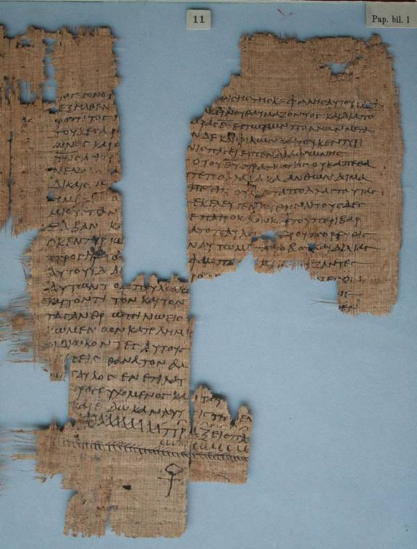 Papyrusfragment