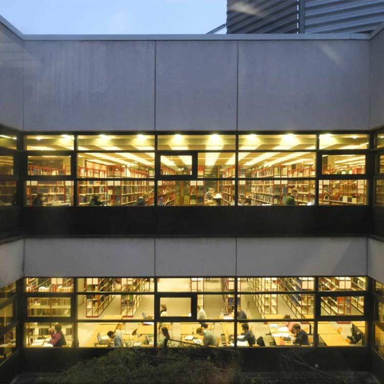 Atrium der Staatsbibliothek