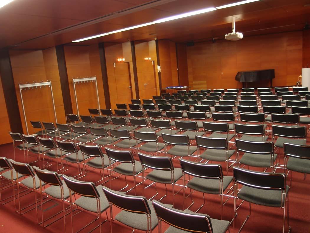 Vortragsraum von hinten