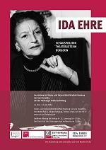 Ida Ehre Plakat