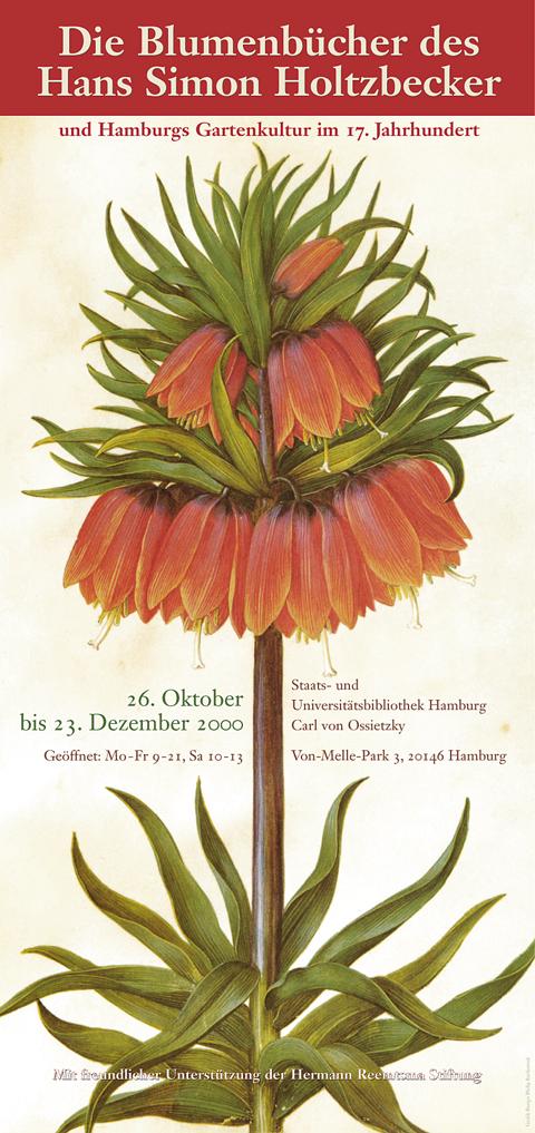 Hans Simon Holtzbecker Plakat