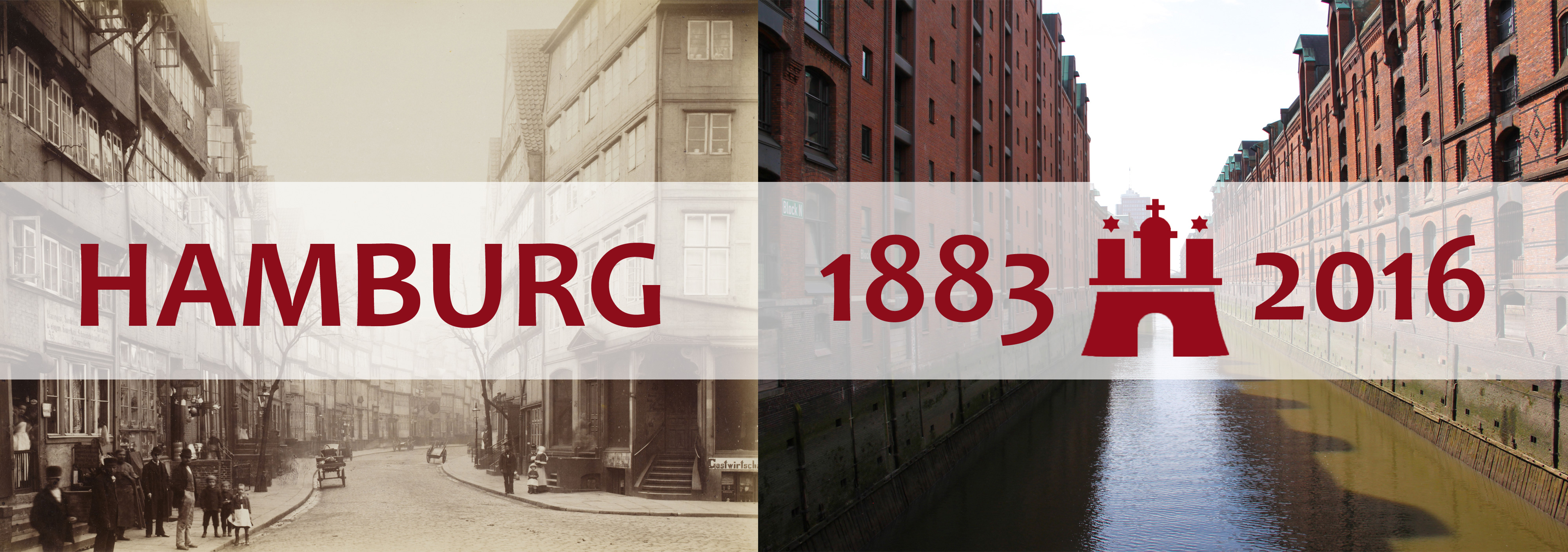 Hamburg 1883 | 2016: Der nördliche Grasbrook damals und heute