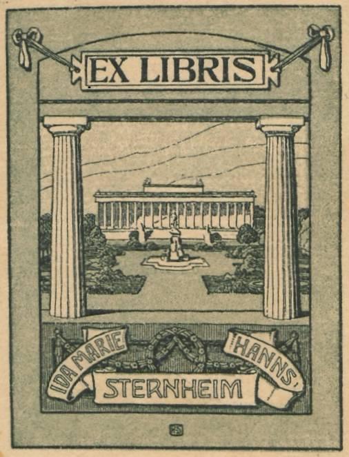 Exlibris Hans Sternheim