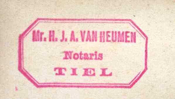 Heumen, H. J. A. van