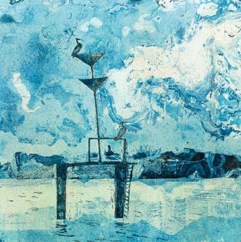 Vogelschau. Caroline Saltzwedel + Hirundo Press = 10 Jahre Buchkunst