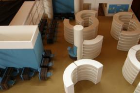 Innenraum-Neugestaltung der Staats- und Universitätsbibliothek