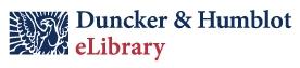 Duncker & Humblot eLibrary