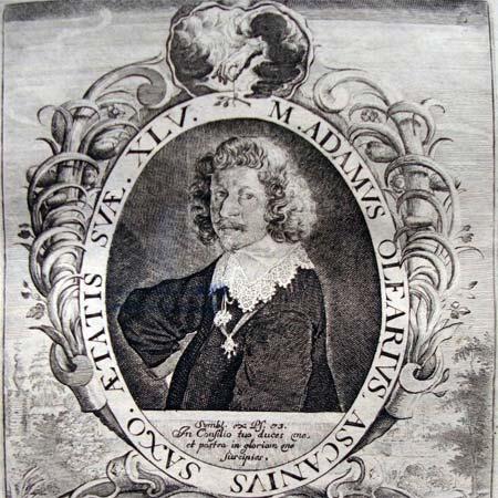 Adam Olearius und sein Geschenk an die Gottorfer Herzogin