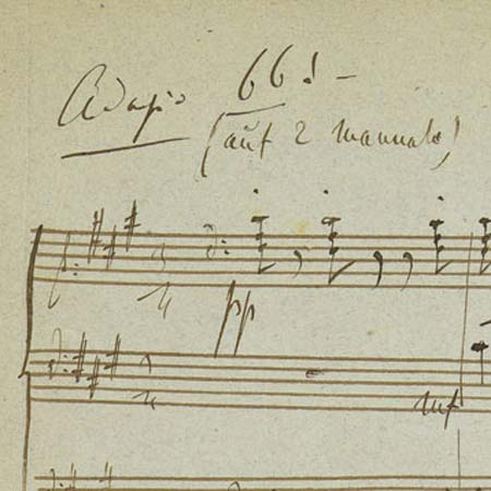 "Liszts Mendelssohn-Transkription ""Es ist genug""."